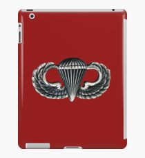 Paratrooper Jump Wings iPad Case/Skin