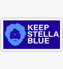 Keep Stella Blue Jerry Garcia Grateful Dead  Sticker