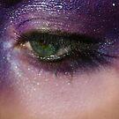 purple eye by Sophie Matthews