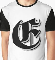 """Fifth Letter"" (Olde English) Graphic T-Shirt"