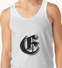 """Fifth Letter"" (Olde English) Tank Top"