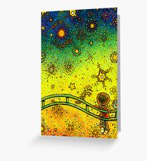 What are you thinking about goldfish? Greeting Card