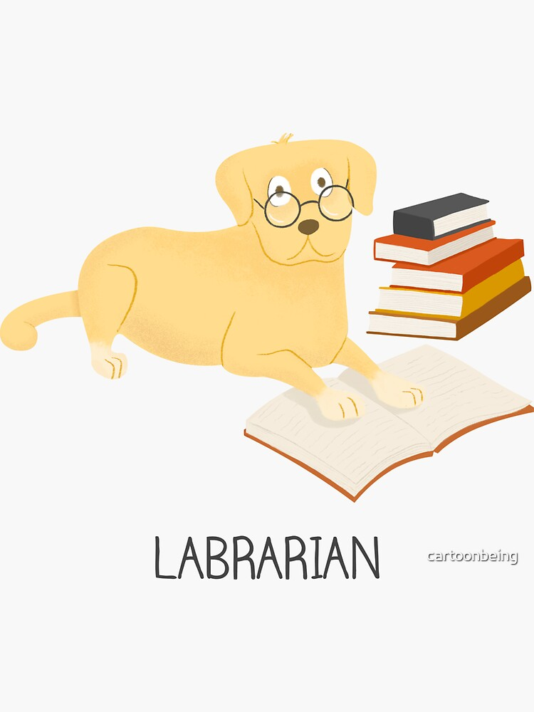 The Labrarian by cartoonbeing