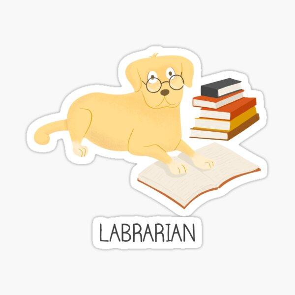 The Labrarian Sticker