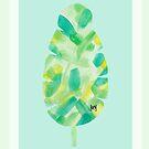 Banana Leaf Print by studioerd