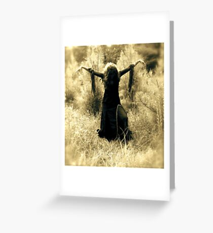 Casting Spells Greeting Card