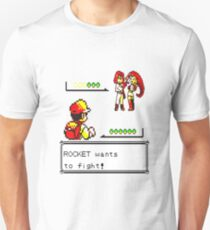 Pokemon Yellow - Rocket Battle T-Shirt