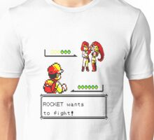 Pokemon Yellow - Rocket Battle Unisex T-Shirt