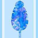 Psychedelic Banana Leaf by studioerd