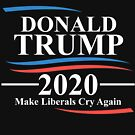 Trump 2020 Shirt Make Liberals Cry Again Shirt by dgavisuals