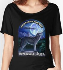 Motorcycle-Assoc-T-shirt by MbrancoDesigns Women's Relaxed Fit T-Shirt