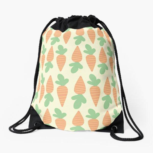 Cute Carrots Drawstring Bag