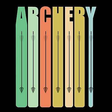 Archery Retro Design - Archery by kudostees