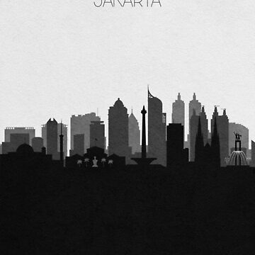 Travel Posters | Destination: Jakarta by geekmywall