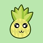 Kawaii Pineapple by NirPerel