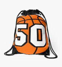 Basketball 50 Drawstring Bag