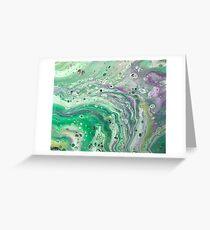 Olivgrün Grußkarte