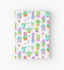 Crystal Cactus Repeating Pattern Hardcover Journal