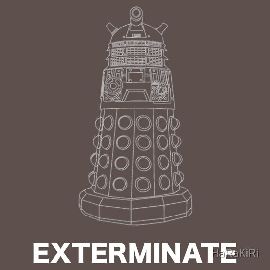 TShirtGifter presents: Exterminate