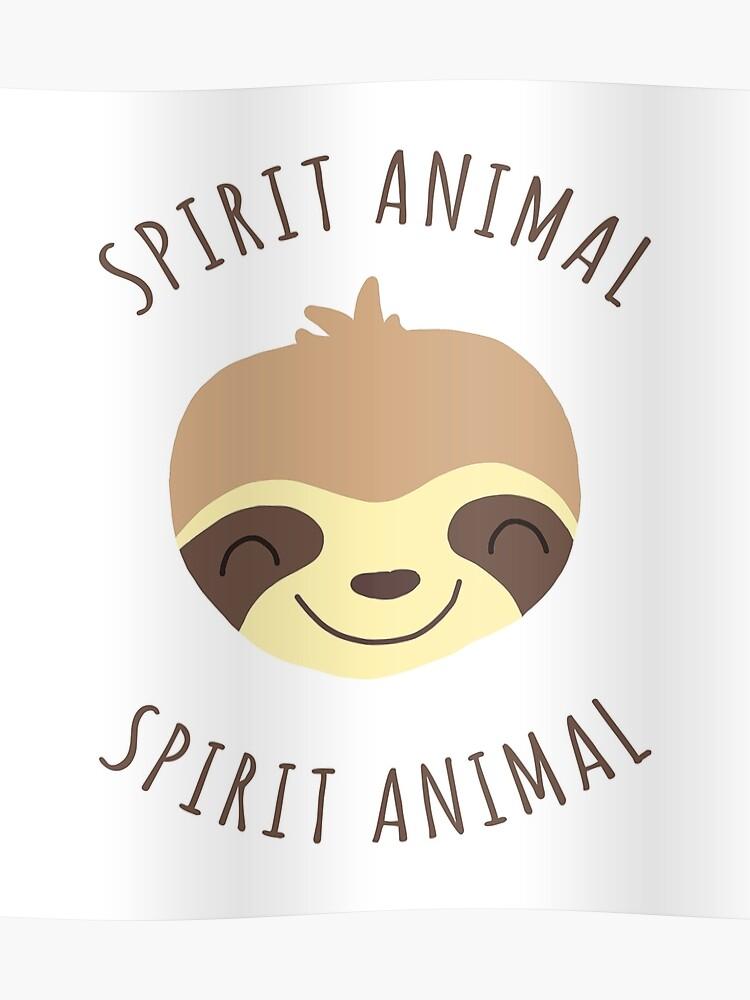 1efa598a29 Spirit Animal | Kawaii Sloth Face