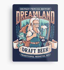 Dreamland Draft  Metal Print