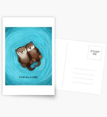 I Love You a Lotter Postcards