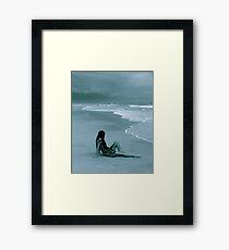Wet Framed Print