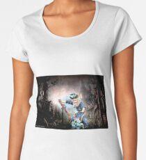 Wizard art 973 Women's Premium T-Shirt