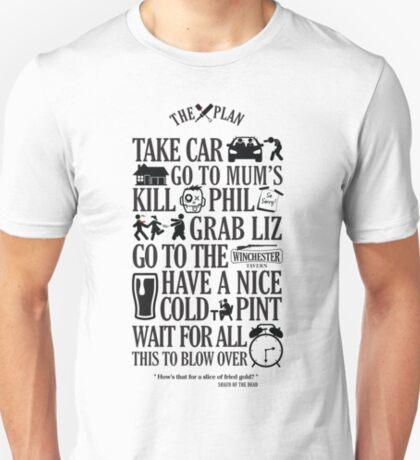 Der Plan - Shaun der Toten T-Shirt