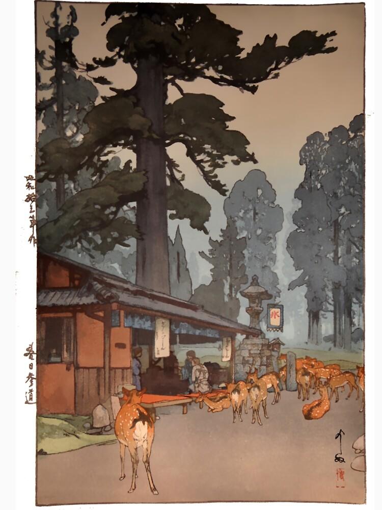 Way To Kasuga Shrine 1938 Hiroshi Yoshida Japanese Art by spameris86