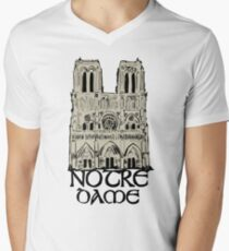a4880e9d96e0e Notre dame Men s V-Neck T-Shirt