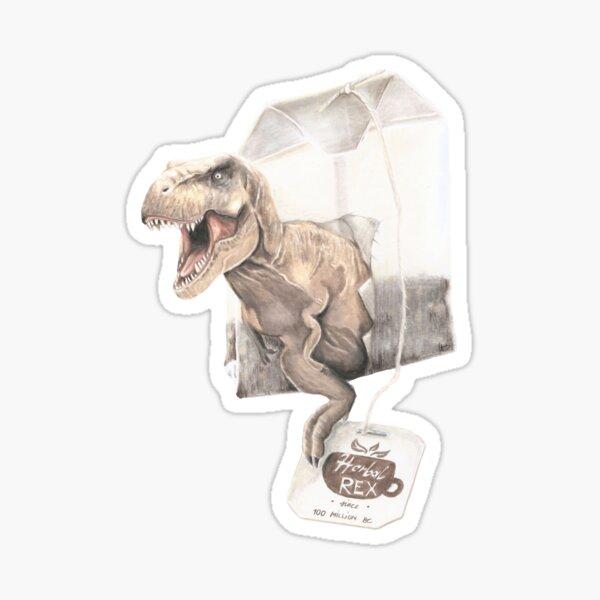 herbal Tea Rex Sticker