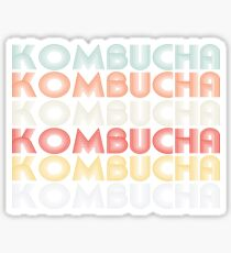 Kombucha - ProBiotic Tea Drink Sticker
