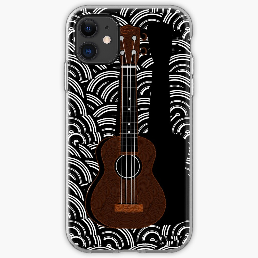 Ukulele Pop Art Deco  iPhone Case & Cover