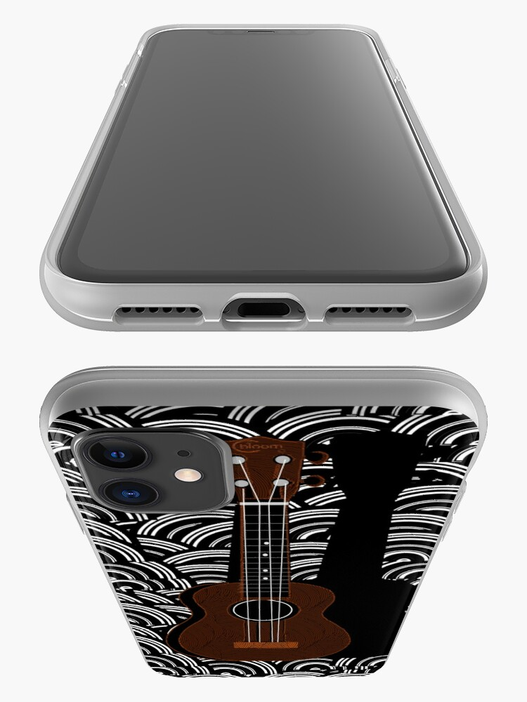 Alternate view of Ukulele Pop Art Deco  iPhone Case & Cover