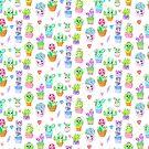Crystal Cactus Repeating Pattern by MandyRosko