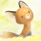 Mocha, the little fox by imolka