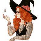 « Red tattooed witch » par Naineuh