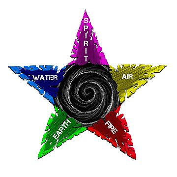 Pentagram design 4 by GhostImageArt