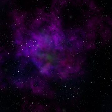 Purple Nebula by LaurenFinn