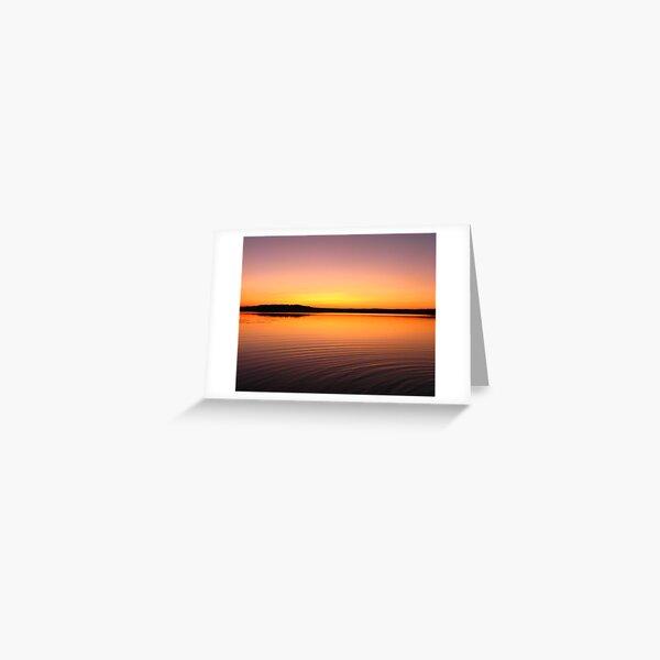 Turee Sunset II Greeting Card