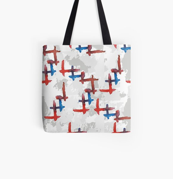 abstract t All Over Print Tote Bag