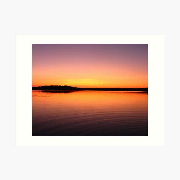 Turee Sunset IV Art Print