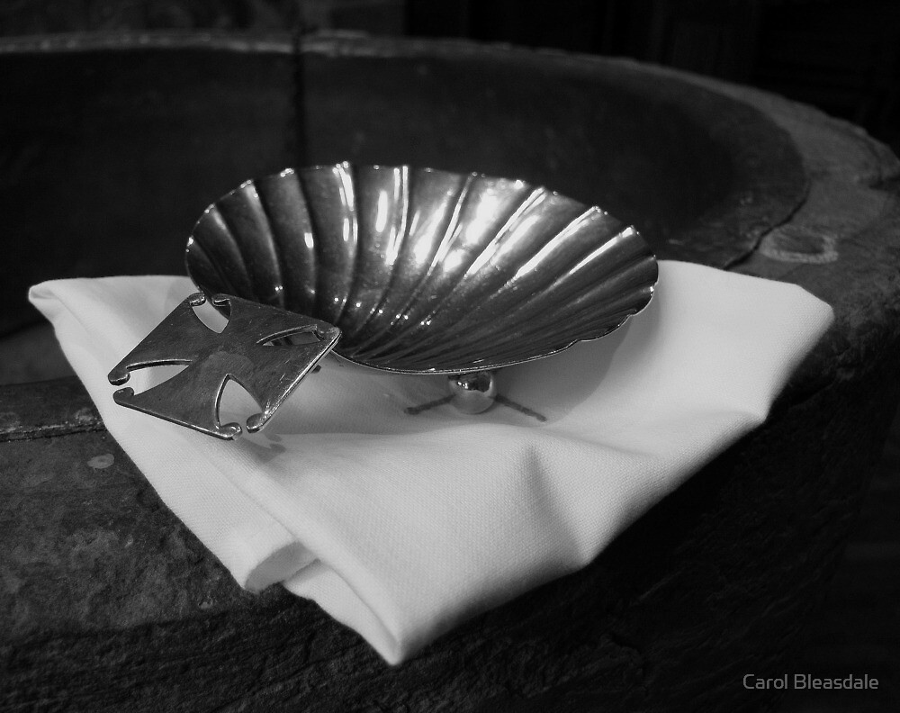 Silver Baptism Shell by Carol Bleasdale
