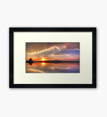 ©HCS Clouds Don´t Run In Pano Framed Print