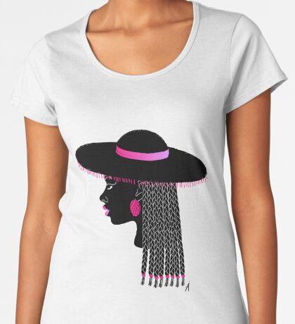 Afro vibrant 01 Women's Premium T-Shirt