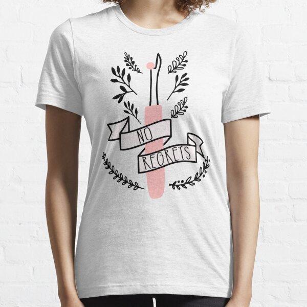 Seam Cutter No Regrets, Sewing Print Essential T-Shirt
