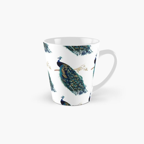 Vintage Peacock  Tall Mug