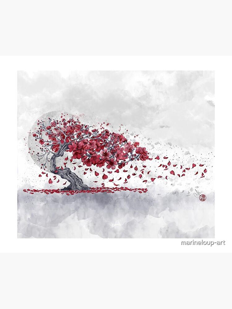 Flor de cerezo - Sakura de marineloup-art