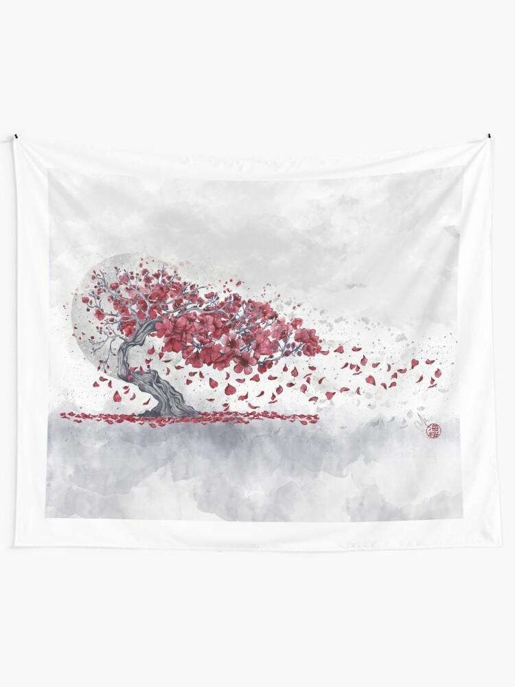 Vista alternativa de Tela decorativa Flor de cerezo - Sakura